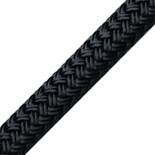 Enlish Braids 06060200900 braid on braid 6 mm zwart Tuned Rigs & ropes