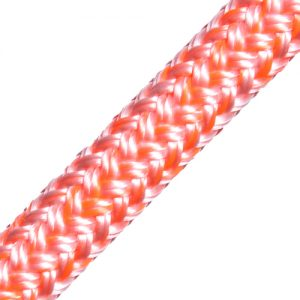 96080200984 dyneema cruising 8mm wit/oranje Tuned Rigs & ropes