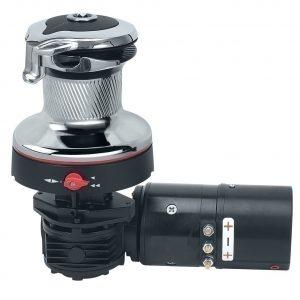 Rewind lier 60.2ST chroom/zwart 24V H