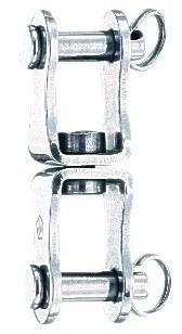 Wartelgaffel dubbel L 45